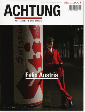 Achtung  Zeitschrift fr Mode Nr 11