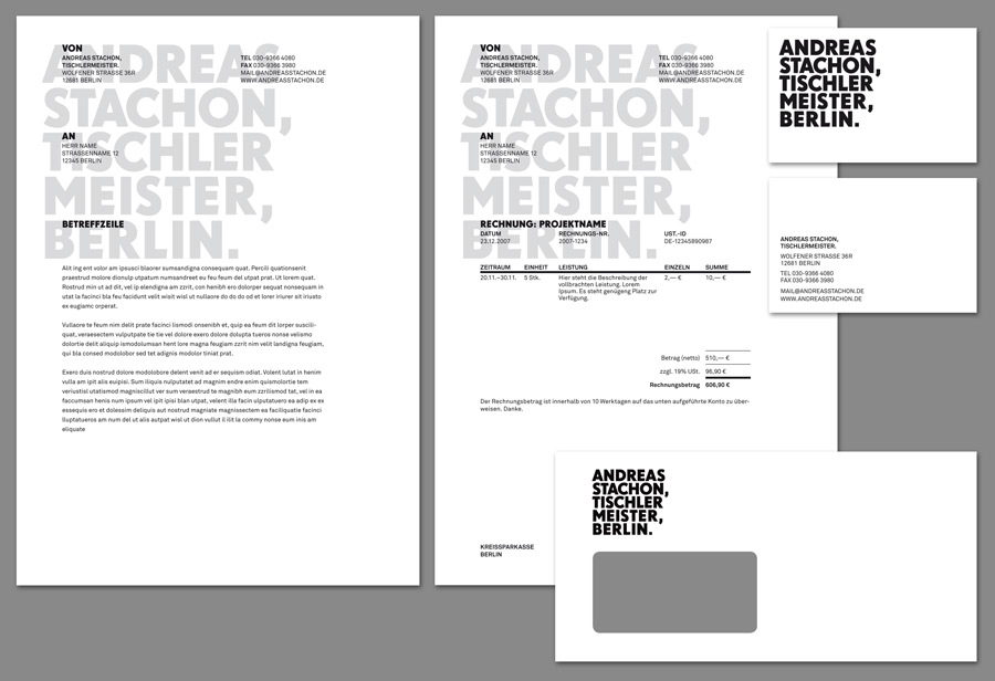 Andreas Stachon Stationary